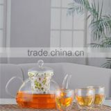 Hot Product Heat Resistant Borosilicate Glass Teapot