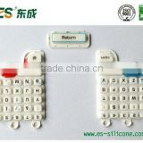 High quality silicone rubber remote control keypad