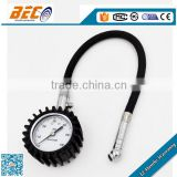 (YTS-50A) 50mm single psi color dial style with black hose good quality tyre use industrial fuel tank gauge