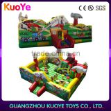 best qualittruck indoor playground trampoline park,toys game amusement park rides, land jumping slide playground,Casas de brinco