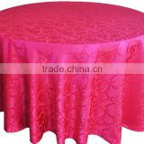 Damask restaurant Table cloth, waterproof tablecloth, hotel tablecloths/hotsales cheapest table linen/jacquard fabric