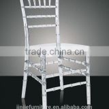 Acrylic Clear Wedding Chiavari Chair/Wholesale Metal Aluminum Wedding Tiffany Chair
