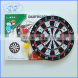 12'' flocked dartboard with color box