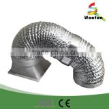 HVAC aluminum flexible stainless steel duct hose