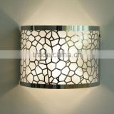 color etching stainless steel lampshade color etching stainless steel sheet plate, handicraft lampshade, metal lampshade