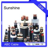 acsr conductor three phase abc overhead cable