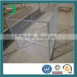 animal cage with welded wire panel