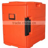 Rotomolding Technology Front Loading Insulated Food Box for hot or cold food, food carrier, food container