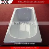 Wholesale China import enamel bathtub,enamel sanitary wares,porcelain on steel bathtub installation