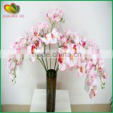 cheap wholesale artificial pink orchid flowers fake vanda orchid artificial flower arrangements for weeding decorations