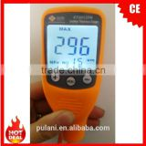 One Handheld digital coating thickness gauge widely used for steel and aluminum refinishing fileds