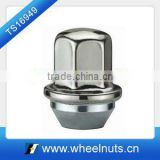 Stainless steel capped tyre lug Nut