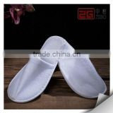 100% Cotton Towel Fabric Cutomized Embroidery Logo Cheap Hotel Slippers                                                                         Quality Choice