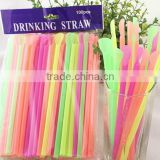 Drinking straw factory
