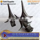 wrought iron brand BenXiang forging spear head 40.163 for decorative gate fence