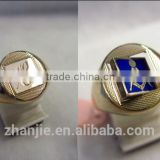 China supplier gold custom masonic signet ring