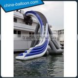 giant inflatable water slide,longest inflatable slide for sea,exciting water toy for adults