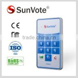 Electronic & Interactive Voting Systems M50+