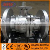 2pc ball valve with metal seat