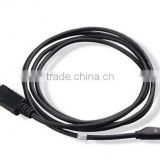 1M DisplayPort Male to Mini DP Plug Adapter Cable/Lead for MacBook Pro/Air Monitor black color