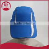 cheap blue/breathable sports caps,breathable