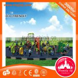 Big Artificial Amusement outdoor plastic retaining climbing wall for sale