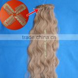 Human Hair Extension - Clips on Hair / Clips in Hair / Wigs