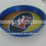 clear plastic plates pastic non-slip for food serving