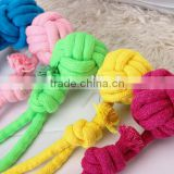 QQPET New Stock hemp dog toy rope