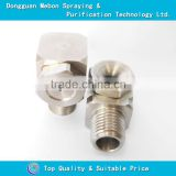 Air cleaning hollow cone spray nozzle,SS hollow cone jet nozzle,stainless hollow cone nozzle