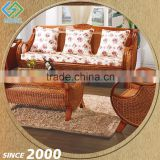 China Supplier Wicker Design 7 Seater Luxury Sofa Sets