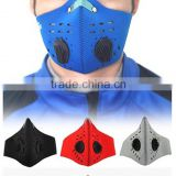 super anti dust pollution masks warm cycling face Half Neoprene filter pm 2.5 for bike riding skiing