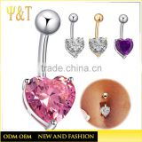 2015New Body Jewelry 316L Surgical Stainless Steel Body Piercing Jewelry best selling QH001