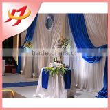 Fancy and elegant wedding portable stage curtain stage backdrop fabric