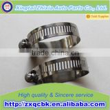 ZX American standard stainless steel double bolt hose clamps