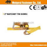 "2"" Ratchet Tie Down ,Cargo Lashing, China manufacturer high quality good price factory supply price cheaper"