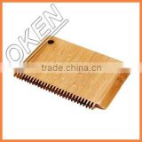 Eco-friendly bamboo wax comb in surfing paraffin cutter efficient useful