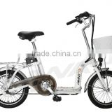 16'' mini road folding e-bike with pedal assisted EN15194 approval