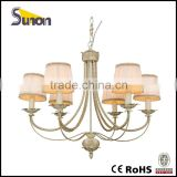 SD1081/6B New Design Decorative Chandelier/Simple Style Hanging Lighting/Antique Indoor Lamp
