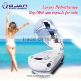 New Arrival!! Deluxe Far Infrared spa oxygen machine Hydrotherapy photon steam oxygen dry spa capsule hydro massage MX-S4