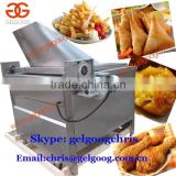 Semi automatic French fries frying machine/machine frying potato/frying machine for fries