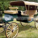 high quality horse drawn sightseeing& tourism horse carriage/cart /gig/wagon/wedding supplies