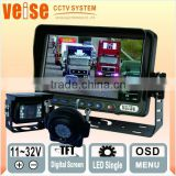 Heavy Duty Truck Rear Vision System For Truck /Farm Tractor/Heavy Equipment/Fork-lifts/RV