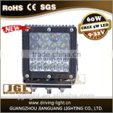 China made cheap 4x4 car accessorie 60w led working light offroad s IP67 9-32v led light for heavy duty machinery