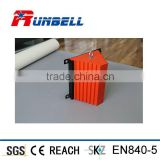 Best-selling Truck Rubber Wheel Chock Steel Holder for American Market