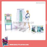 Kindergarten furniture toys girl bathroom toy set