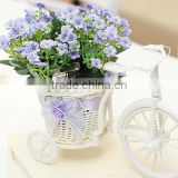 Handmade desktop decorative flower pot, storage basket
