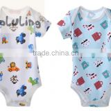 wholesale tinaluling brand new summer boys and girls bodysuits infant snapsuits baby anaimal rompers