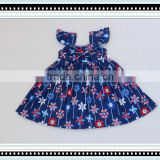 Little Fashion Girls Floral Print Party Dress Summer Cotton Casual Tank Shift Dress Baby Girl Names Dress