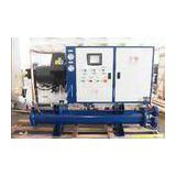 Water Cooled Screw Chillers With Taiwan Compressor RO-170WS Cooling Capacity 170KW 3N-380V / 415V -